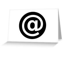 Cool Round icon @  Greeting Card