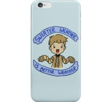 Watson's Sweater iPhone Case/Skin