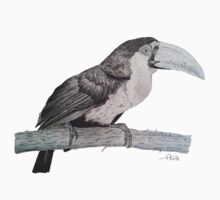 Tropical Bird One Piece - Short Sleeve