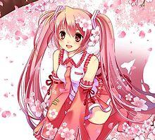 Sakura Miku by Tappina95