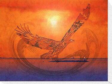 Spirit Eagle - Anpiel by Gail Bridger