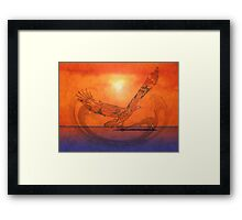 Spirit Eagle - Anpiel Framed Print