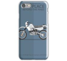 The Place Beyond the Pines - Vehicle Inspired Print iPhone Case/Skin