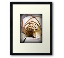 Period of reflection Framed Print