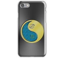Cancer & Goat Yin Metal iPhone Case/Skin