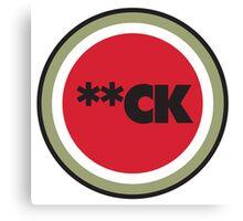 **CK - Funny Smoking Parody Canvas Print
