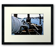 The Tip of the Ship Framed Print