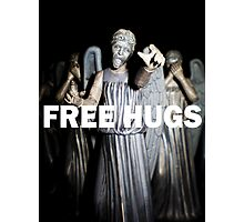 Free Hugs by an Angel Photographic Print
