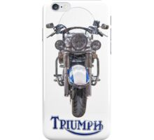 Triumph Thunderbird LT iPhone Case/Skin