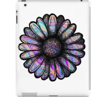 Rainbow Swirl Flower iPad Case/Skin