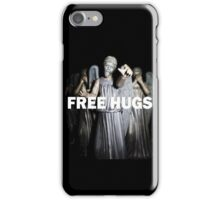 Free Hugs by an Angel iPhone Case/Skin