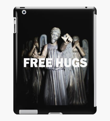 Free Hugs by an Angel iPad Case/Skin