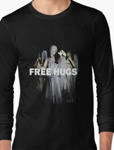 Free Hugs by an Angel Long Sleeve T-Shirt