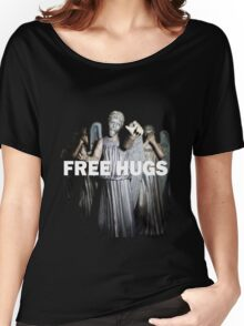Free Hugs by an Angel Women's Relaxed Fit T-Shirt