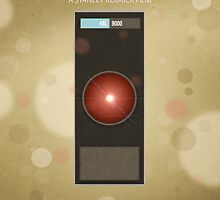 Stanley Kubrick's '2001: A Space Odyssey' - Poster Print by George Townley