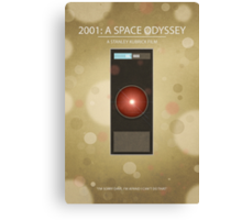 Stanley Kubrick's '2001: A Space Odyssey' - Poster Print Canvas Print