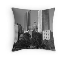 Perth - Cityscape Throw Pillow