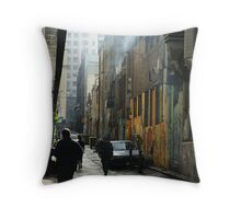 Alleyway Throw Pillow