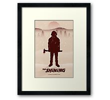 "A ""The Shining"" Poster Print Framed Print"