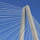Ravenel Bridge Abstract by Darlene Lankford Honeycutt