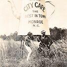Roadside Americana - Vintage Monroe North Carolina by Mark Tisdale