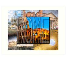 Simply Rome Art Print