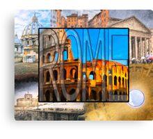 Simply Rome Canvas Print