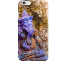 Ganesha purple iPhone Case/Skin