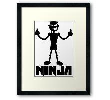 Ninja Die Antwoord Framed Print