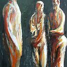 Study from Henry Moore-Three Standing Figures 1945 by Josh Bowe
