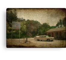 Bates Motel Canvas Print