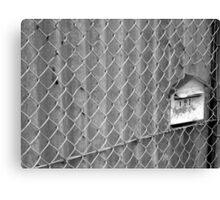 Mail Prison Canvas Print