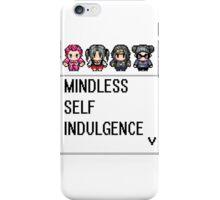 MINDLESS SELF INDULGENCE VIDEO GAME RETRO iPhone Case/Skin