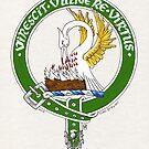 Clan Stewart Scottish Crest by Cleave