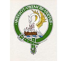 Clan Stewart Scottish Crest Photographic Print