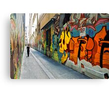 Union Lane Melbourne Canvas Print