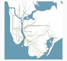 Subway Series- New York Baby Tee