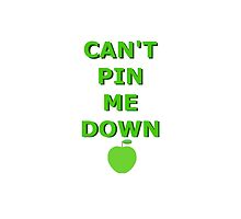 CAN'T PIN ME DOWN by unbearablybleak