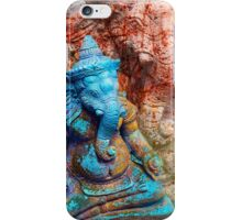 Ganesha blue iPhone Case/Skin