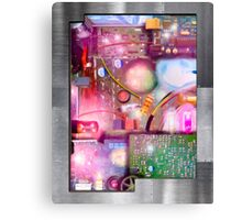 Bigger On The Inside - Vintage Electronic Fantasy Canvas Print