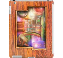 Vintage Wooden iPad - See What's Inside! iPad Case/Skin