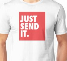 Just Send It - Red Unisex T-Shirt