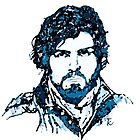 Athos Illustration in Blue by burketeer