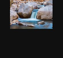 Rocky Mountain Canyon Waterfall T-Shirt