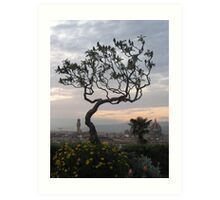 Firenze from Piazzale Michelangelo Art Print