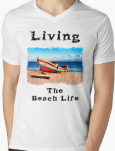 Living The Beach Life in Mexico T-Shirt
