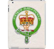 Scottish Crest of Clan Robertson iPad Case/Skin