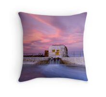 Down In The Corner Throw Pillow