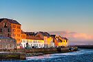 Galway Waterfront at Sunset by Mark Tisdale
