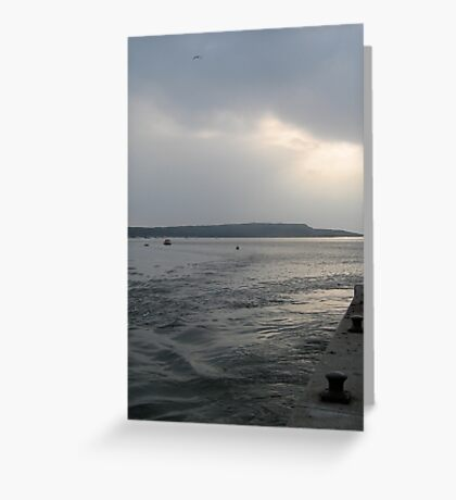 Restless Seas Greeting Card
